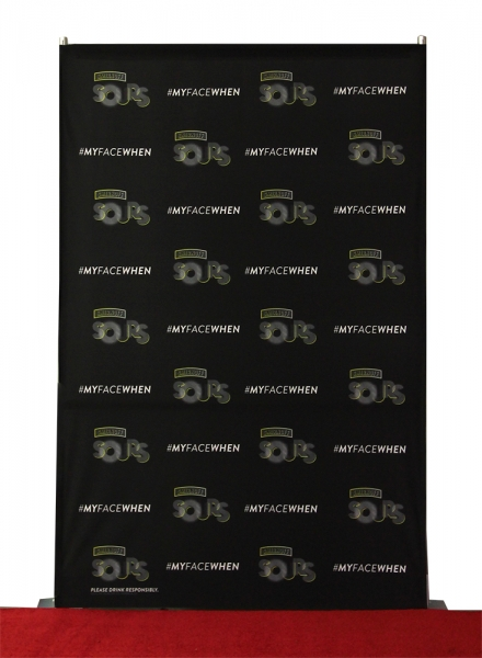5x8 step and repeat banner